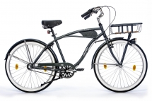 Leader Sturdy 26 Zoll Beachcruiser Grau Matt (2017)