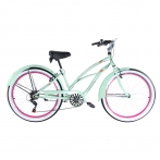 B-Ware Leader Lazy 26 Zoll Beachcruiser Damen Pastellgrün
