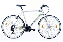 Leader Action 1.0 28 Zoll Fitnessbike Weiß (2016)
