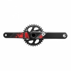 KRG Sram X01 Eagle Fat Bike4 GXP 175mm schwarz,12-f.30 Z.X-SYNC 2,Direct Mount