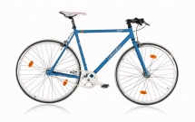 Leader FF1 28 Zoll /Fixie Blau Matt (2017)