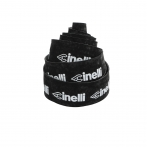 Cinelli Logo Velvet Ribbon - black