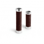 Brooks Slender Leather Grips - brown