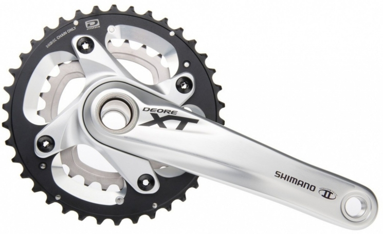 KRG Shimano Deore XT 28/40 Zähne 175mm FC-M 785 Hollowtech- II m. Achse, 10-f.