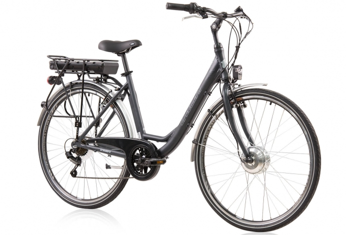 Tretwerk Cloud 1.0 28 Zoll E-Bike Citybike Damen Anthrazit