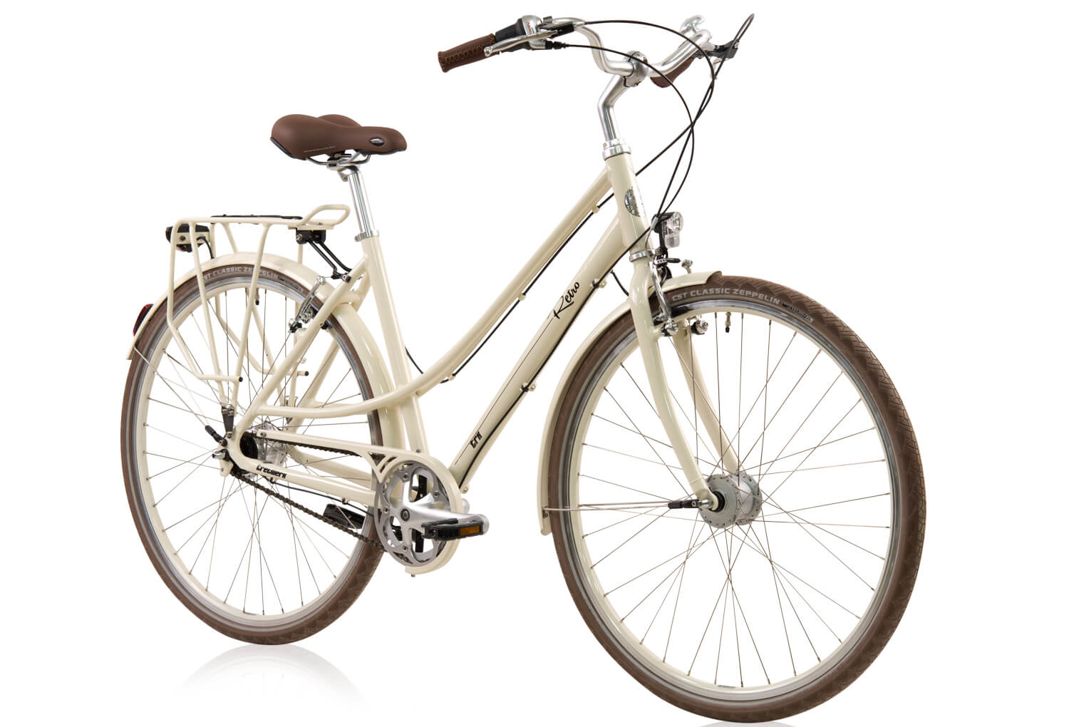 tretwerk retro 28 zoll citybike damen beige s fahrr der. Black Bedroom Furniture Sets. Home Design Ideas