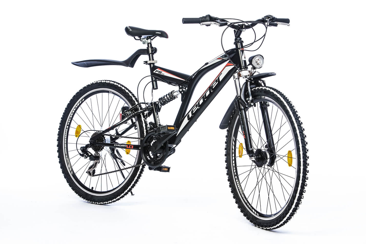 leader chicago 26 zoll atb schwarz 2017 mountainbikes. Black Bedroom Furniture Sets. Home Design Ideas