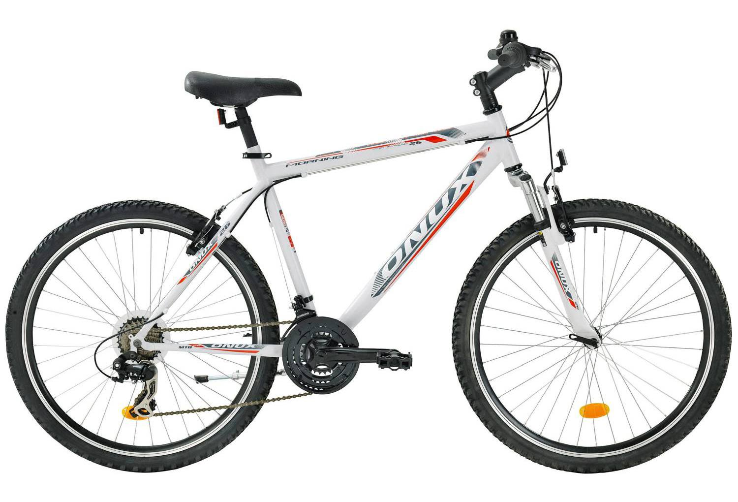 onux morning 28 zoll mountainbike wei hardtails. Black Bedroom Furniture Sets. Home Design Ideas