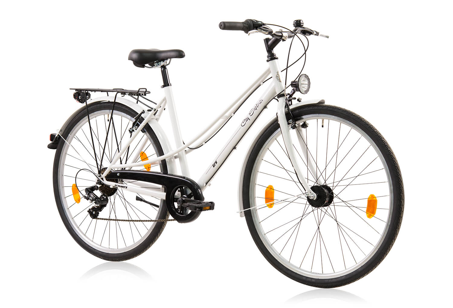 tretwerk city explorer 28 zoll citybike damen wei. Black Bedroom Furniture Sets. Home Design Ideas