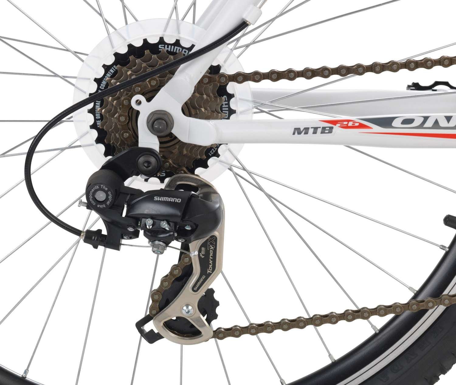 onux morning 26 zoll mountainbike wei hardtails. Black Bedroom Furniture Sets. Home Design Ideas